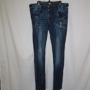 Spoon Jeans Women's Size 9 skinny straight distres